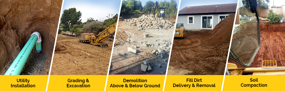 Oceanside Backhoe Excavation Service