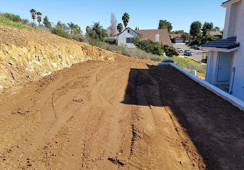 Grading & Re-Compaction San Diego