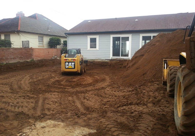 Grading & Re-Compaction in Oceanside