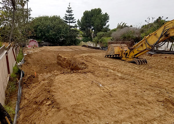 Rough Grading & Excavating Service