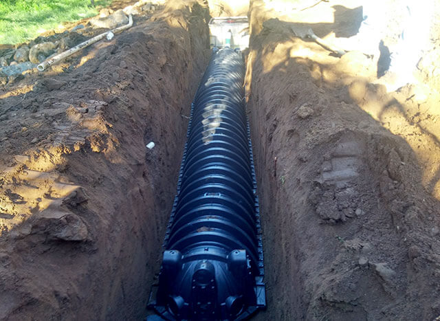 Underground utility trenching installation san diego ca